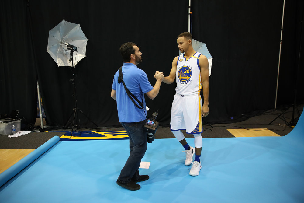 GSW Media Day Portraits