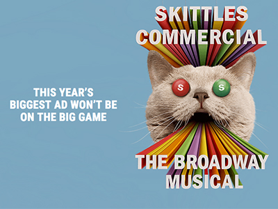 - Skittles The Broadway MusicalSmuggler/DDB Worldwide2019