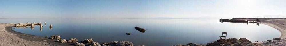 Chair, Salton Sea, California, 2014