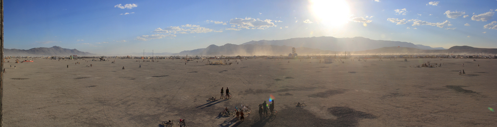Playa View, Burning Man 2012