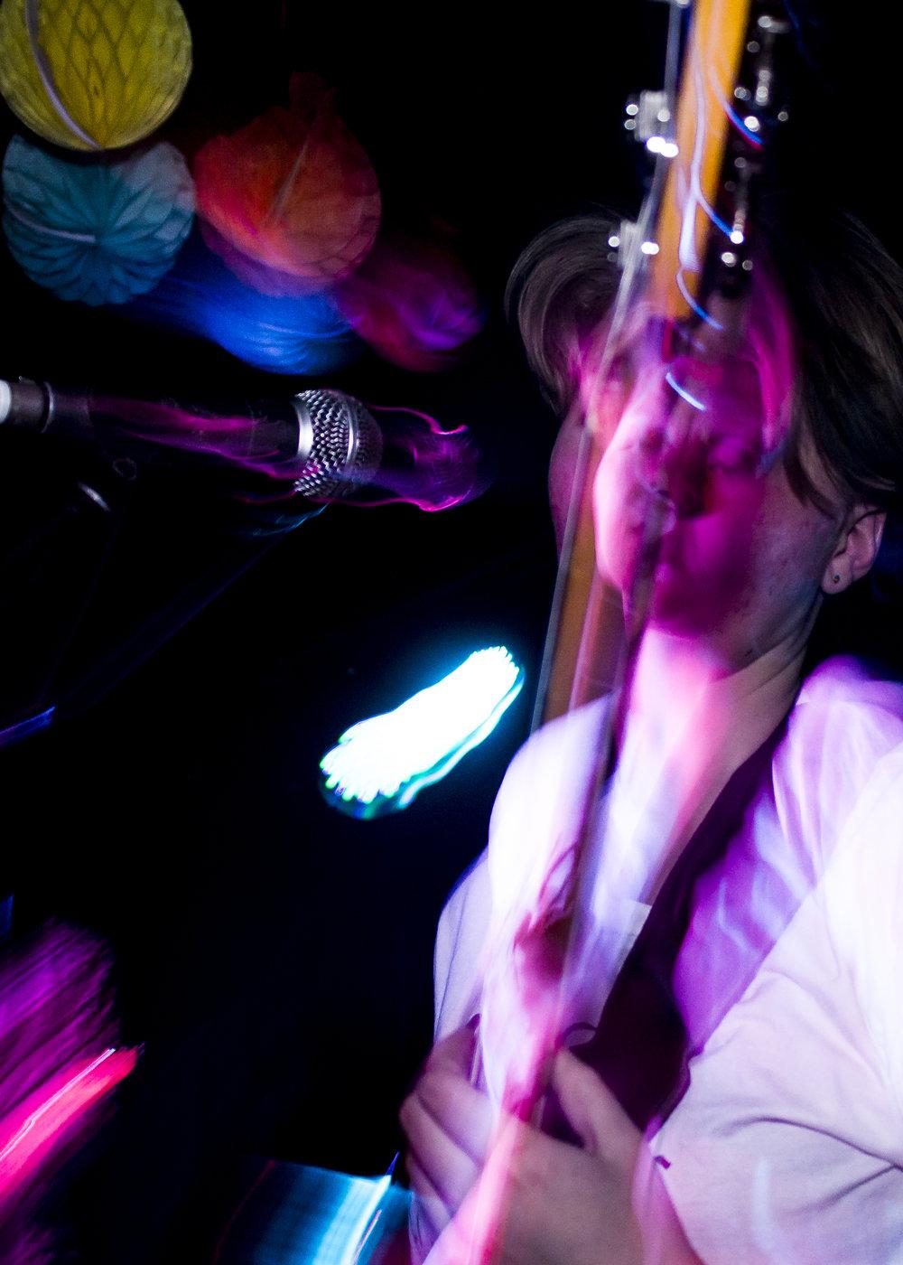 Laura Brown, Bass Guitar + Vocals