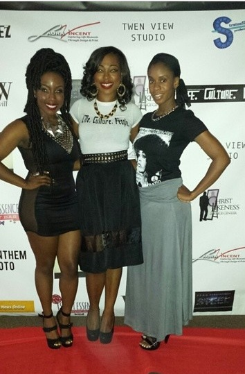 Us and 95.7 Jams radio personality Lady Woo