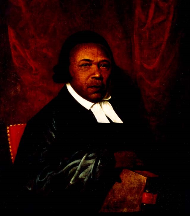 Raphaelle Peale Absalom Jones-  1810 Portrait of an African-American abolitionist and clergyman. Figure shown very differently than Cinque.