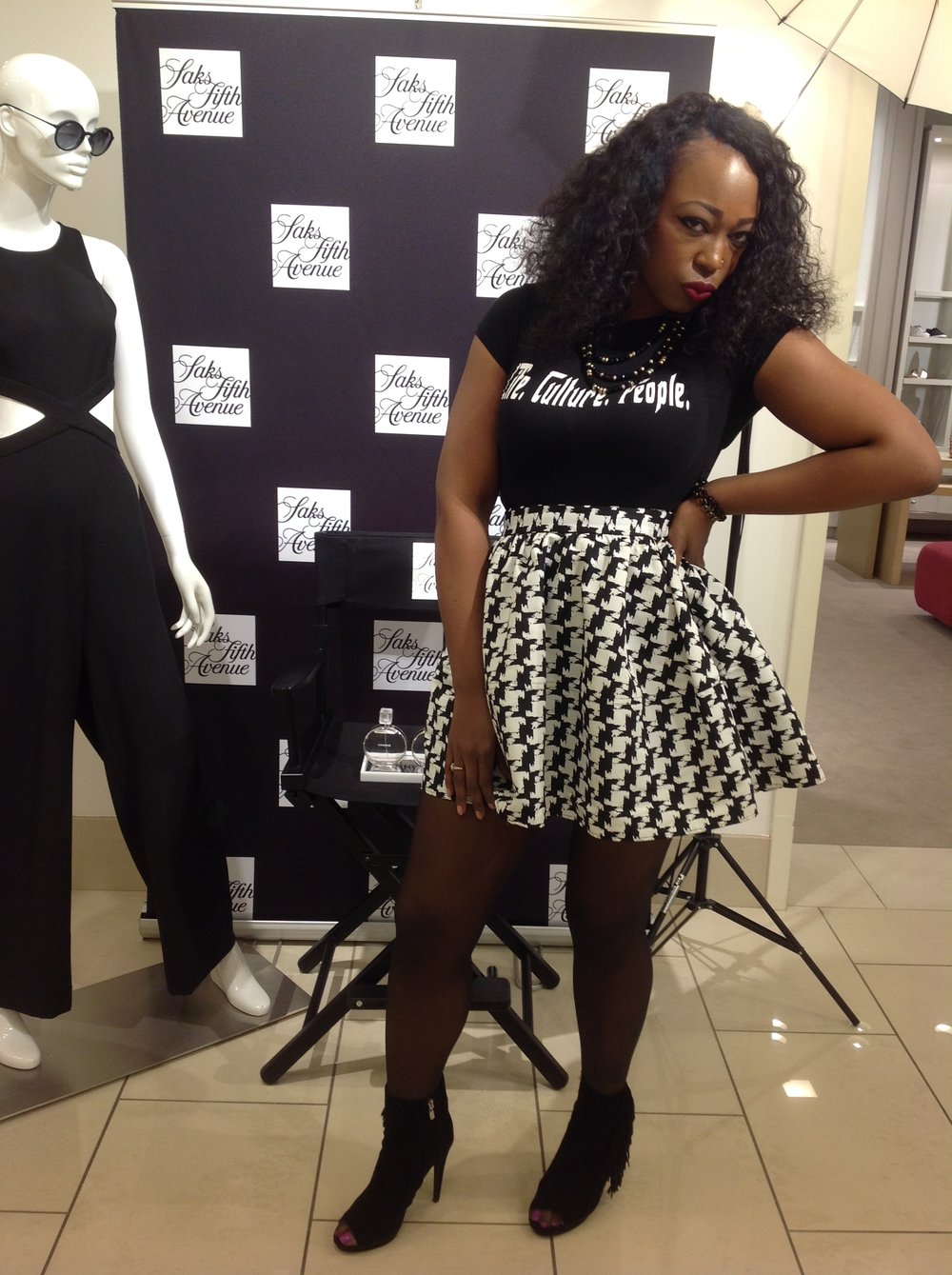 HOSTING BEAUTY WEEK AT SAKS 5TH AVE BIRMINGHAM