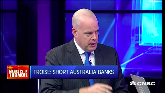 Bearish on Aussie banks