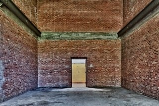 "Harlem Valley / Wingdale # 7554 - Building 22 - Storehouse  , 2012  photograph  28 1/4"" x 381/4"""