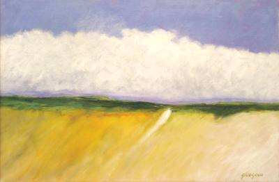 "Kill Devil Hills, 2010 oil on linen 21"" x 31"""