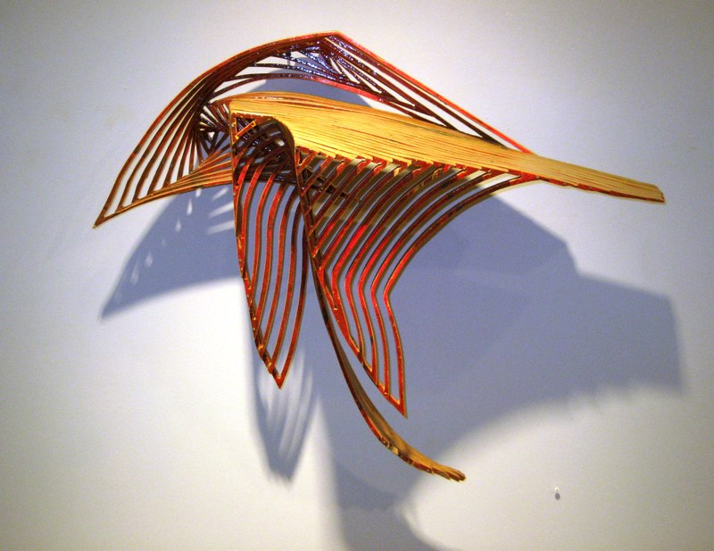"Open Scuttle, 1999 baltic birch (s427) 26"" x 21"" x 15"""
