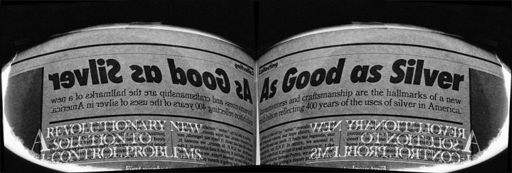 "As Good as Silver, 2010 inkjet photograph (1/10) 22 1/4"" x 56 1/4"""