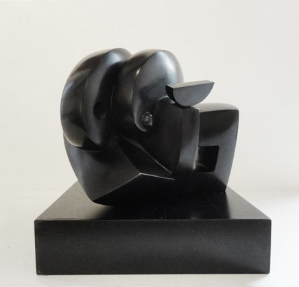 Crepuscule   , 1997   bronze, black patina, 1/6