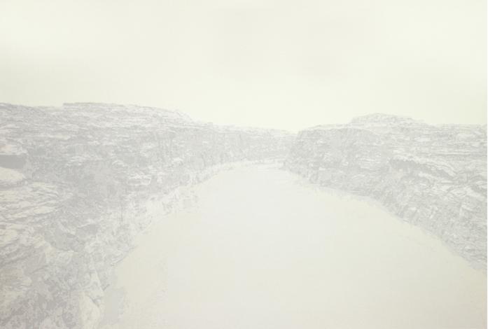 "Cameron Martin ""Partinem,"" 2013 lithograph, 19/20 22 7/16"" x 35"""
