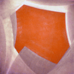 """Untitled,"" 1999 acrylic on canvas 60"" x 60"""