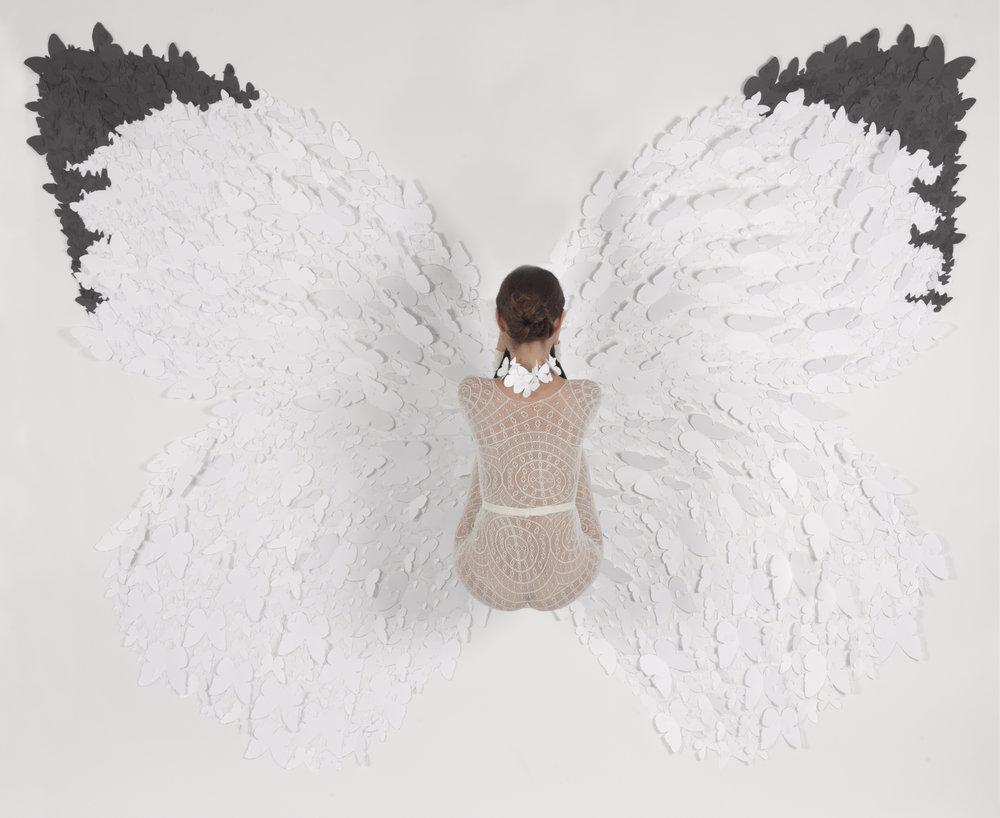 """Natalia Arias (BIO)  """"White Glider"""" 2012 c-print, 5/5 47 3/4"""" x 60"""""""