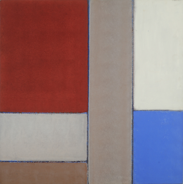 "Willem de Looper (BIO), Untitled, 1981, acrylic on canvas, 36"" x 36"""