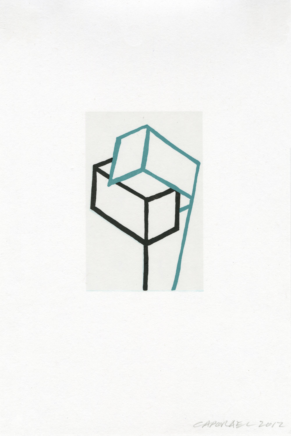 "Suzanne Caporael  (  BIO)   ""Harmony,"" 2013  relief 8/12  17 5/8"" x 13"""