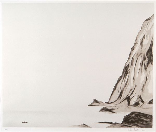 """Cameron Martin  (BIO)  ,   Location Tone  , 2003, lithograph, 32 3/8"""" x 37 3/8"""""""