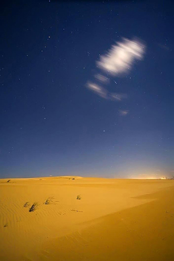 "Avery Danziger(BIO), Jockey's Ridge 5:27 a.m., 2007, color photography 1/12, 41"" x 31"""