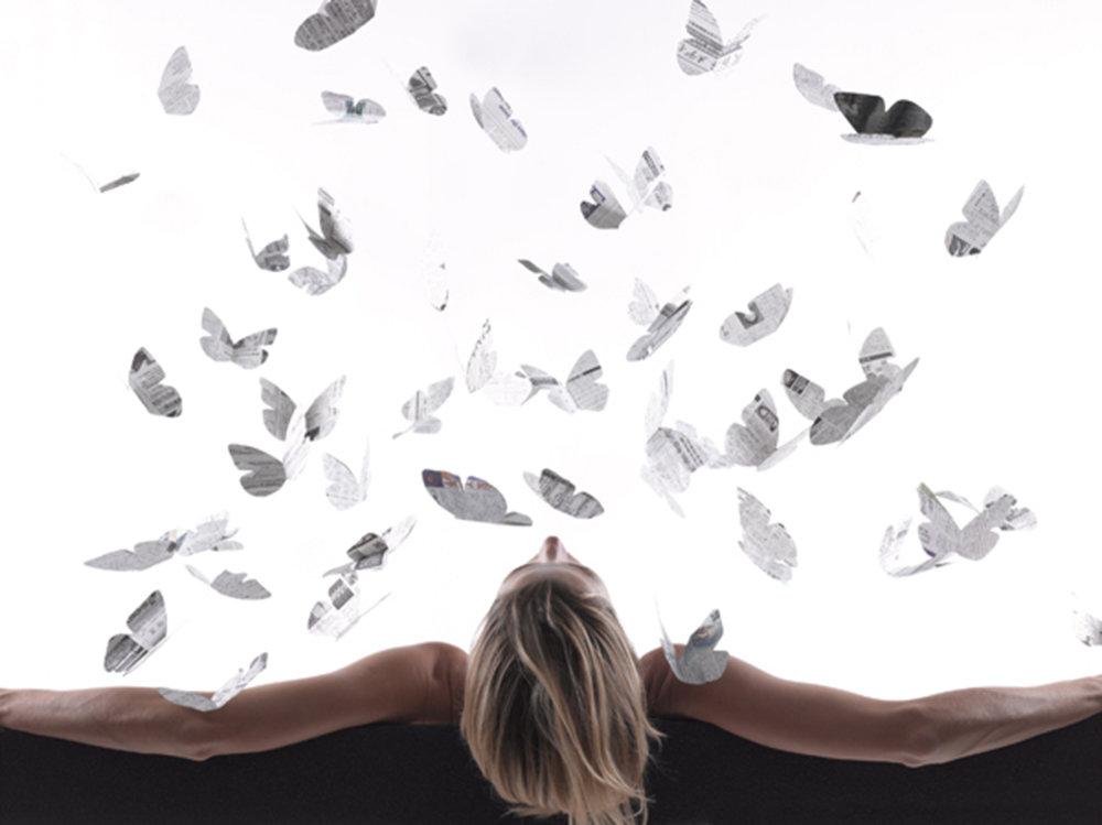 """Natalia Arias   (BIO)  ,   News  , 2012, color photograph 1/5, 45 3/4"""" x 61"""""""