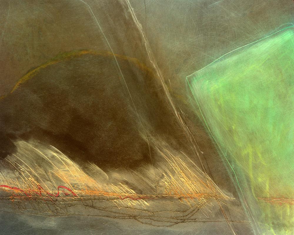 "Leslie Miller(BIO),Number 95 Tavy, 1990, color photograph 1/40, 29"" x 33"""