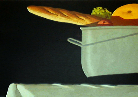 "Julio Larraz, ""Detail"", 1993 silkscreen, 2/35 29 1/3"" x 41"""