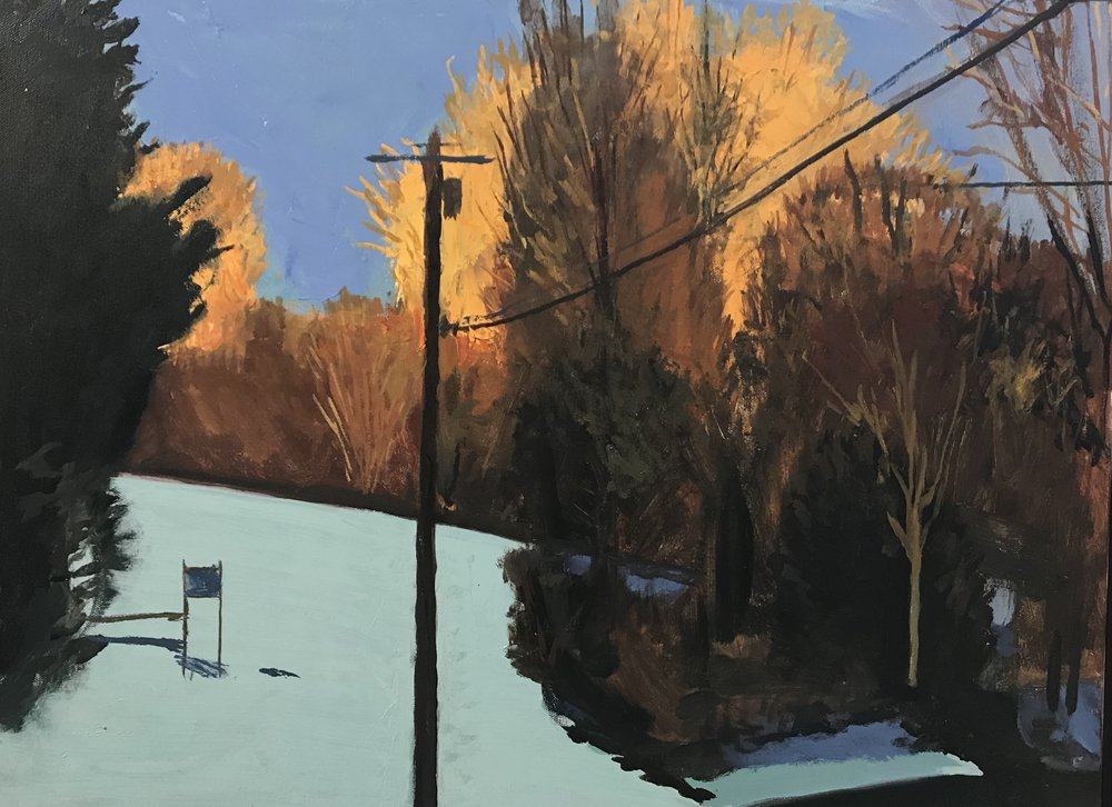 "PETER CHARLAP ""Winter VII,"" 2010"