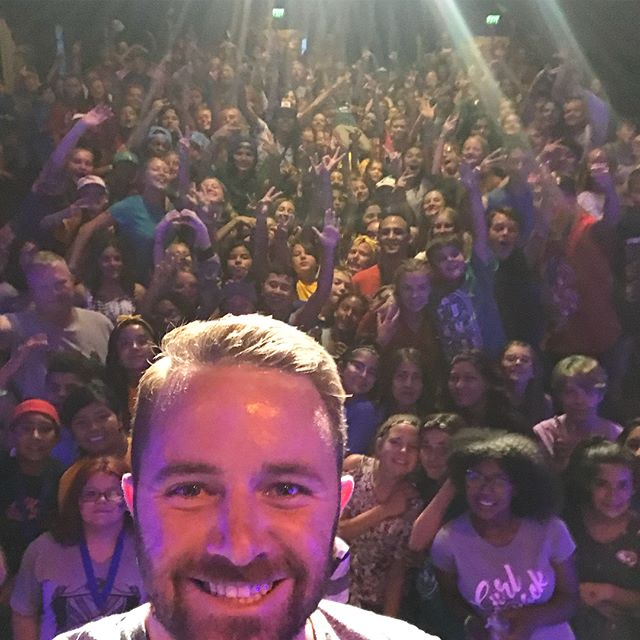 Thanks for having me this week @thousandpines!! Amazing time with 250+ of my new friends getting to share the best truth ever. I can't wait to watch you change the world 🌎