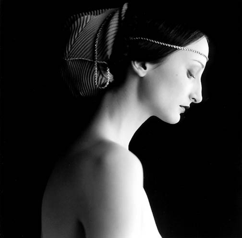 Portrait of a woman by Rodney Smith