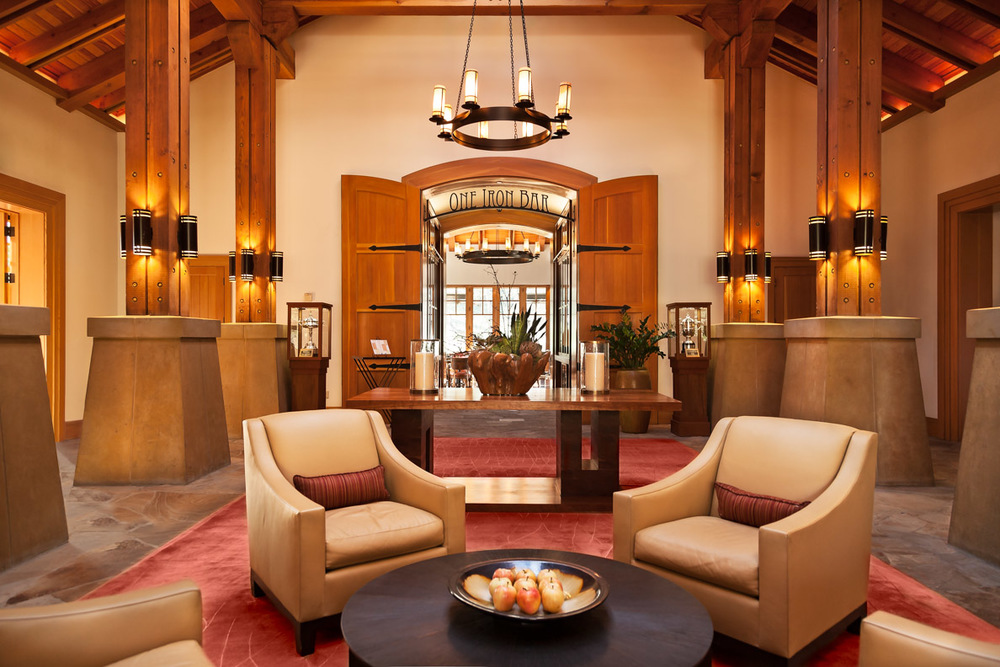 CordeValle Resort, Hotel Lobby, lounge area.