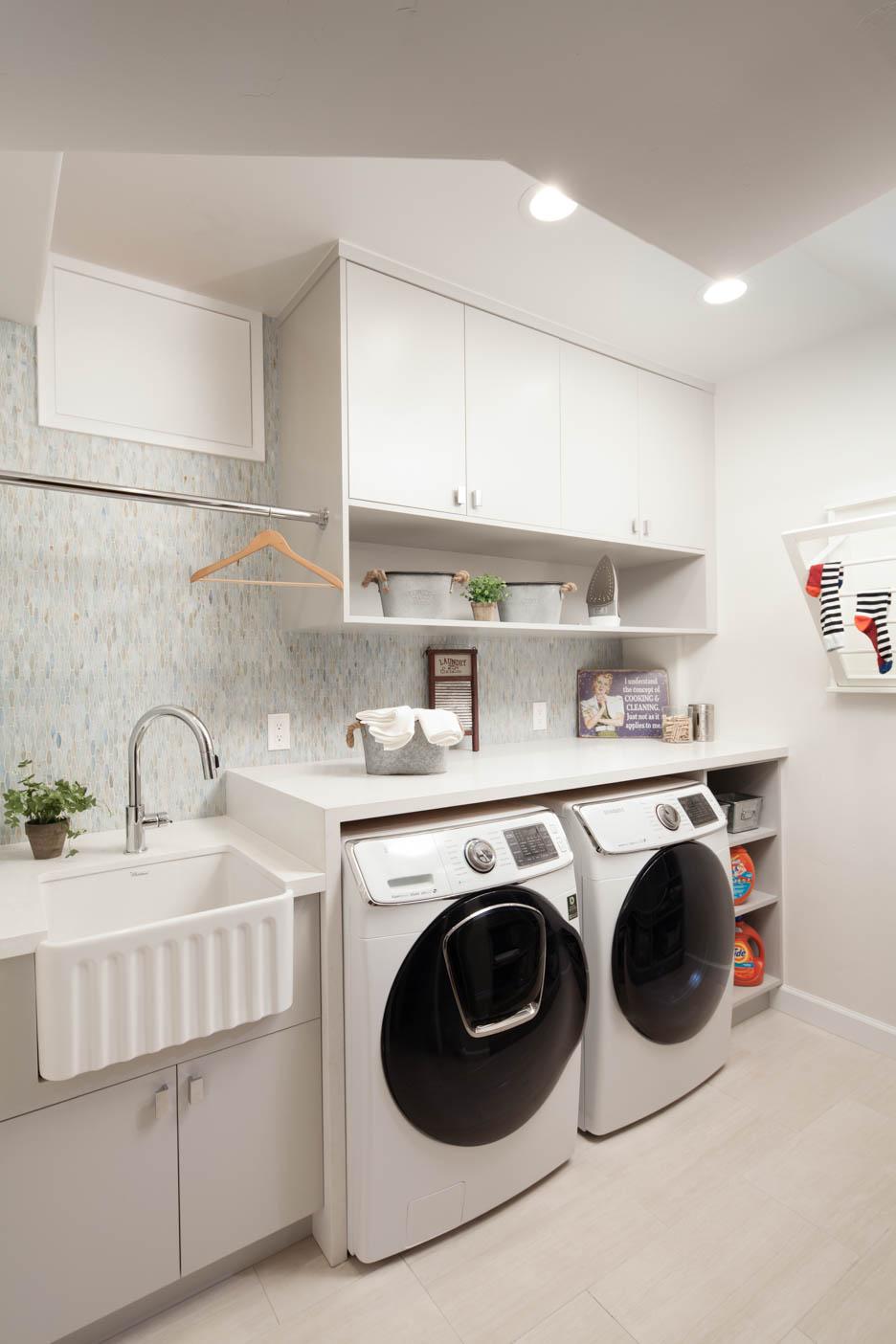 Laundry romm