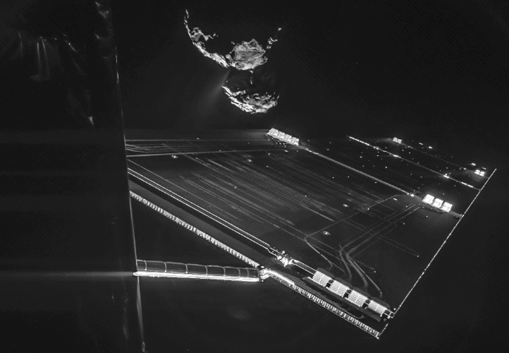 NASA Astronomy Picture of the Day, 16 October 2014: Rosetta spacecraft