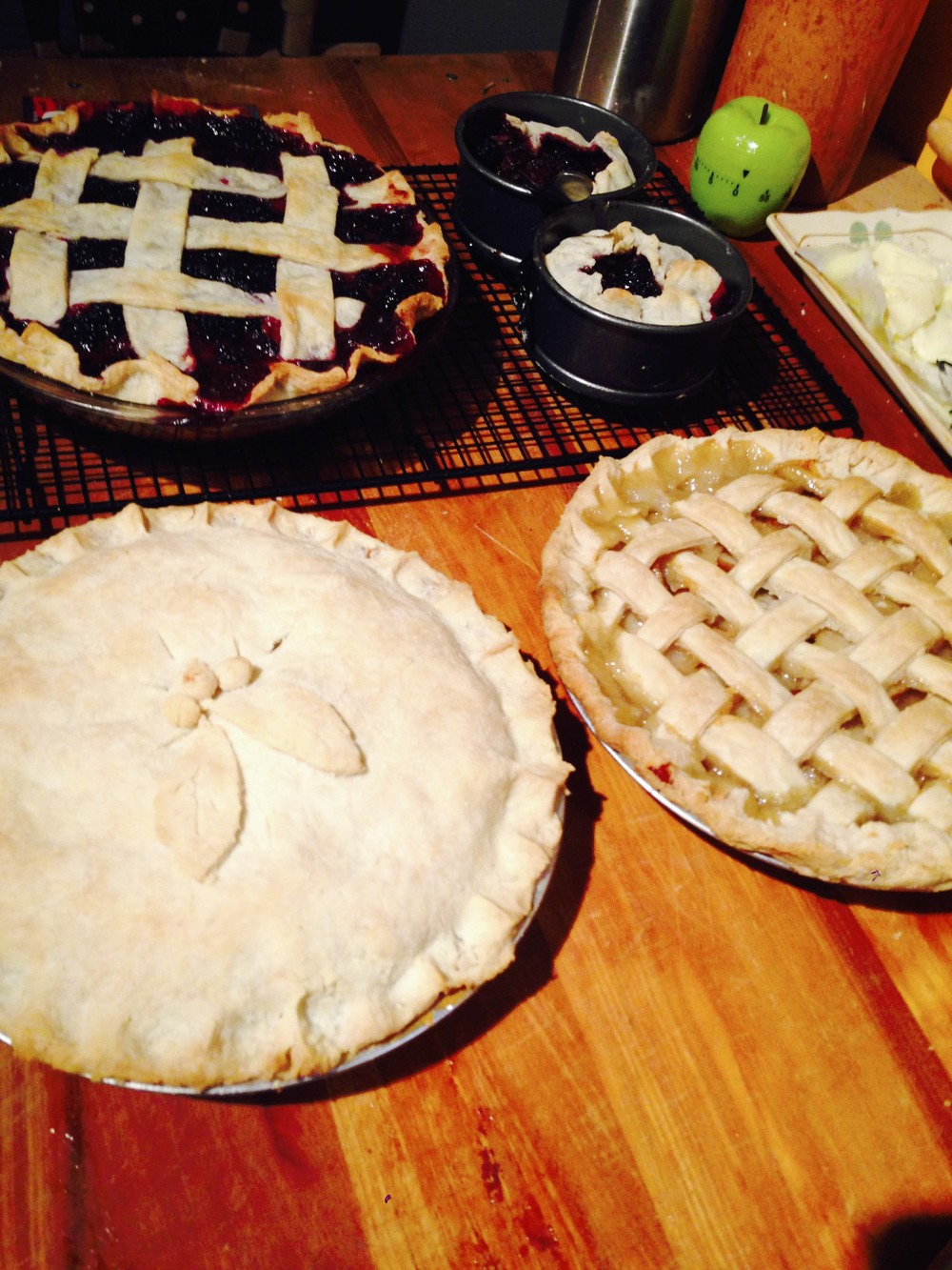 The Thirsty Fork specializes in seasonal fruit pies from our Sacramento farmers' bounty.  Consider including some handmade pies, free of artificial ingredients, on the menu for your catered event.