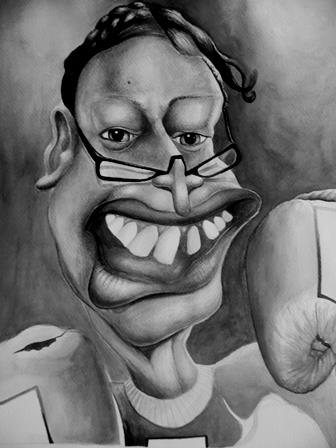 From project Taim mi kamap (When I become...), a series of caricatures about politicians in Papua New Guinea, using a familiar line.