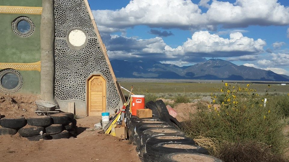 EARTHSHIP VISITOR CENTRE