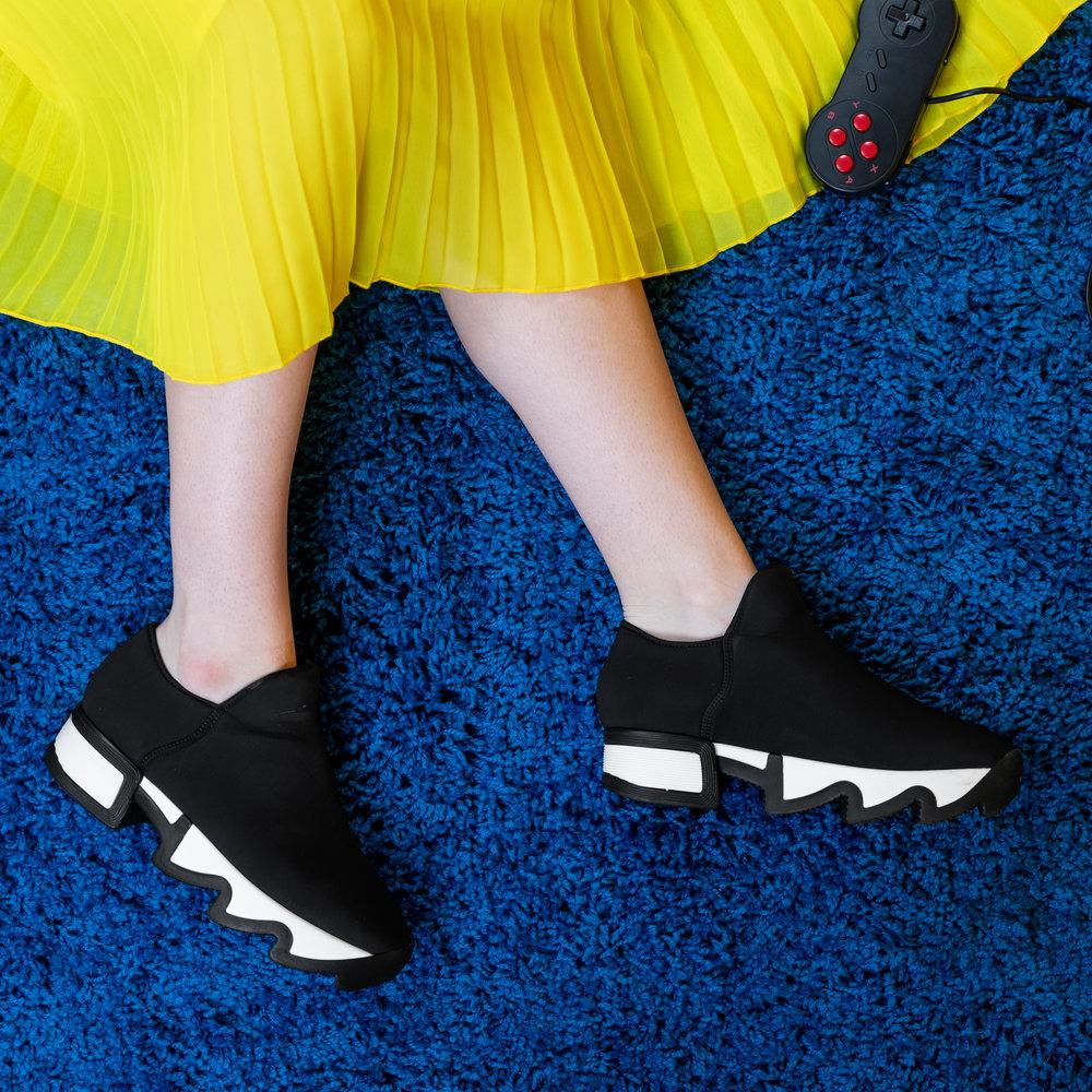 Black Outline Neoprene Sneaker-1.jpg