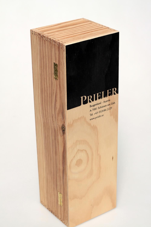Weinkassette aus Birkensperrholz