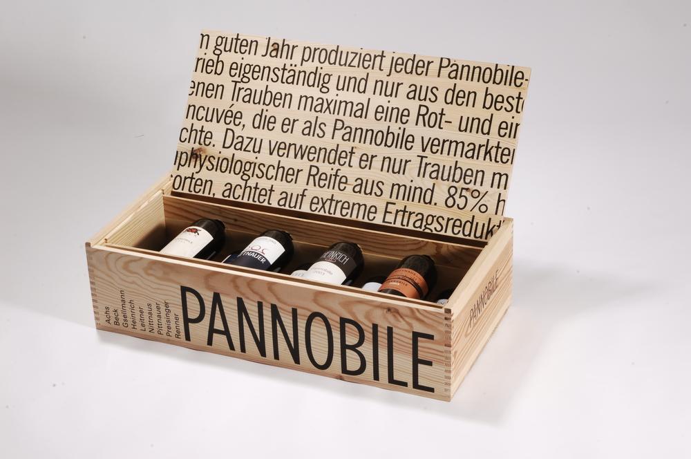 Weinverpackung mit Displaydeckel