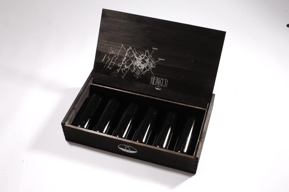 Weinbox mit Displaydeckel