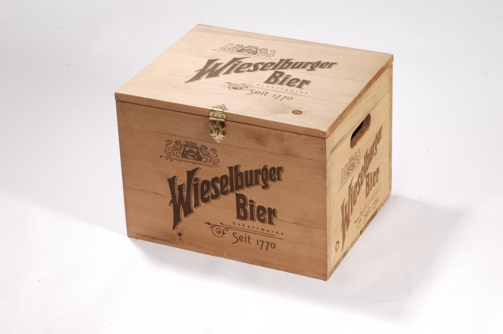 Bierkiste Nut und Feder