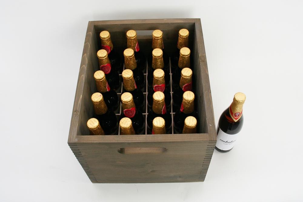 Bierkiste mit Fachwerk
