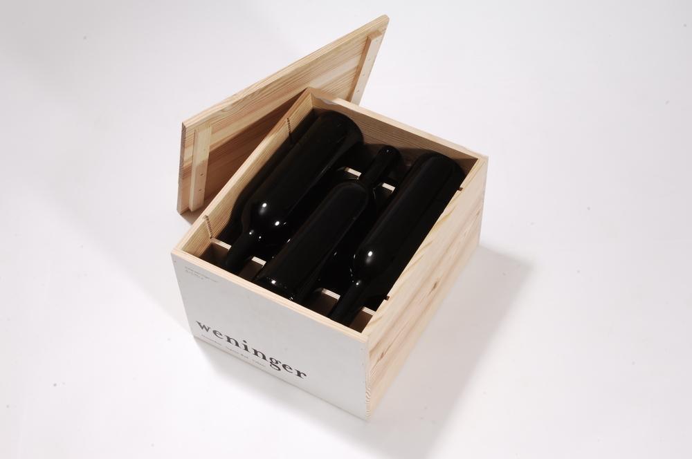 Weinbox mit losem Deckel