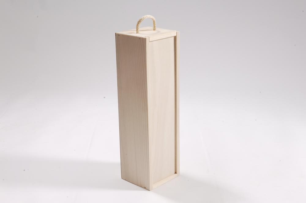Weinbox mit Schubdeckel