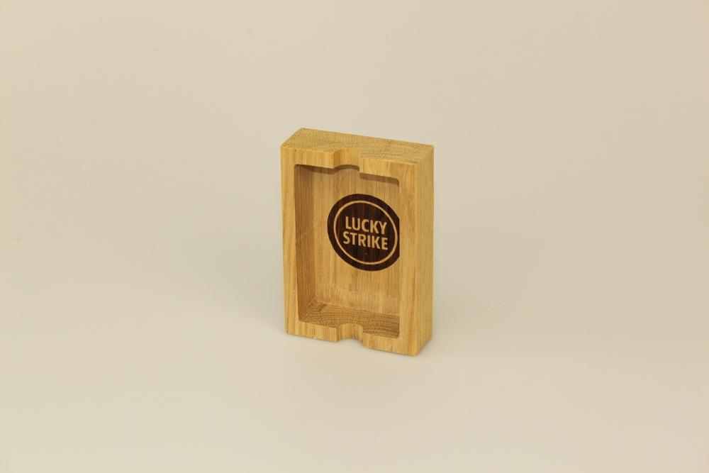 Holzaschenbecher