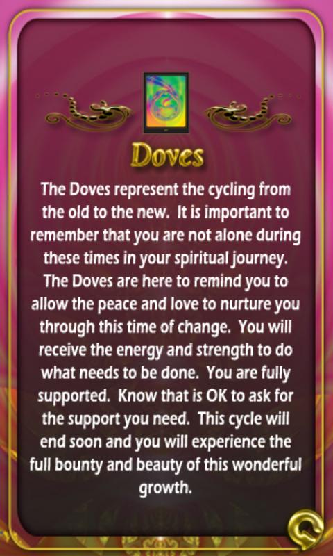 FREYA'S DAY JULY 10TH 2015:                 DOVES