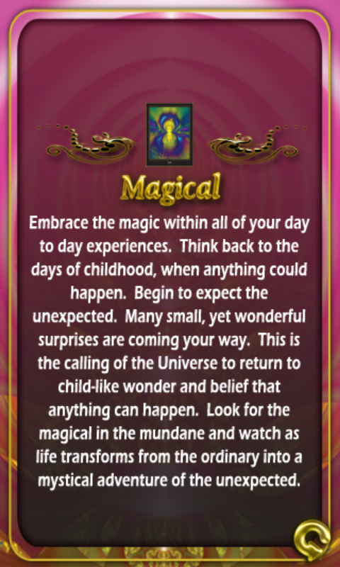 JULY 4-10 2015 THEME OF THE WEEK:                 MAGICAL