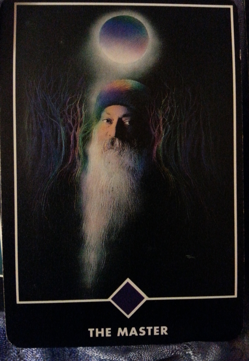 """THOR'S DAY JULY 23 RD 2015  CARD 23- MAJOR ARCANA-THE MASTER   TODAY""""S MANTRA: I AM WHOLENESS"""
