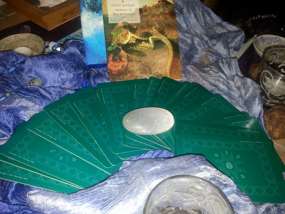 CHARGING AND PURIFYING BY SELENITE