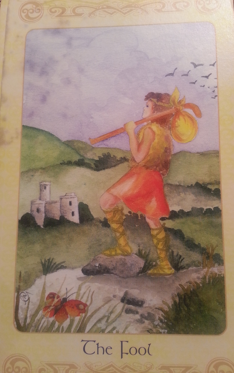 THEME OF THE WEEKAUGUST 1ST-7TH: THE FOOL-CARD 1-AKA THE LEAP OF FAITH-AS THE FOOL FEARLESSLYSHARES HIS GIFTS WITH THE WORLD, HE KNOWS HE IS IN SERVICE TO ALL THAT IS, HIS HEART IGNITES FROM JOY, HE IS WHO HE IS WITHOUT COMPROMISE, HE IS THE CREATIVE SPARK