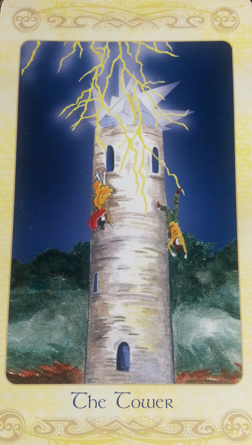 TYR'S DAY AUGUST 4TH 2015: THE TOWER-CARD SIXTEEN- MAJOR ARCANA- FREDDOM INEVITABLE CHANGE, ENLIGHTENMENT
