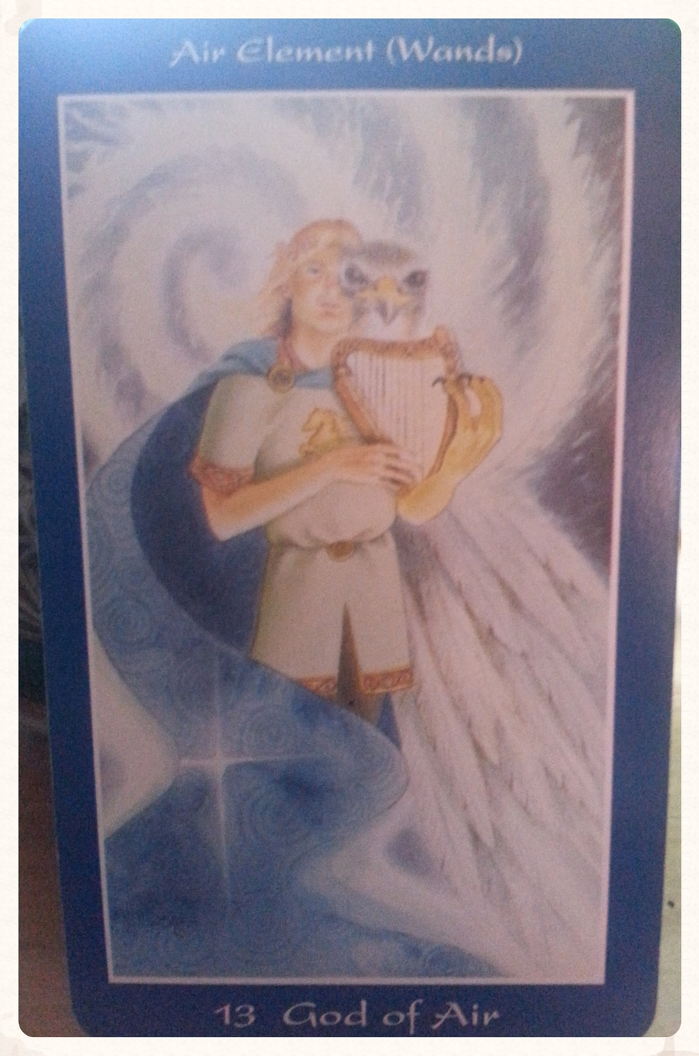 MOON-DAY AUGUST 10TH 2015      CARD 13- GOD OF AIR- GWYDION PERCEPTION, ACTUALIZATION, MASTERY