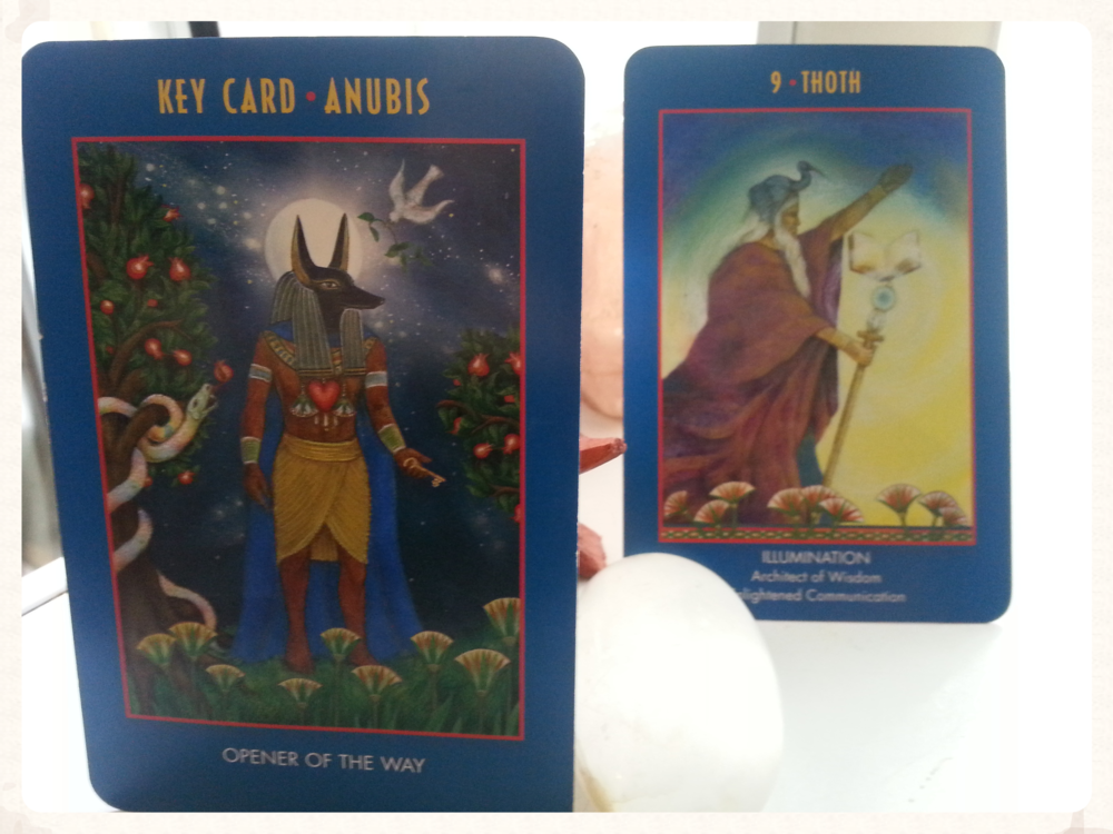 ANUBIS OPENS THE WAY TO THE PATH OF THOTH: ILLUMINATION, WISDOM AND ENLIGHTENED COMMUNICATION